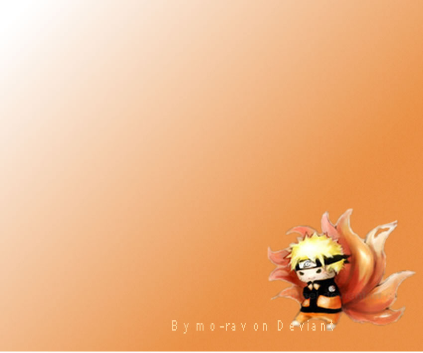 Chibi Wallpaper: Naruto Chibi Wallpaper By Mo-rav On DeviantArt