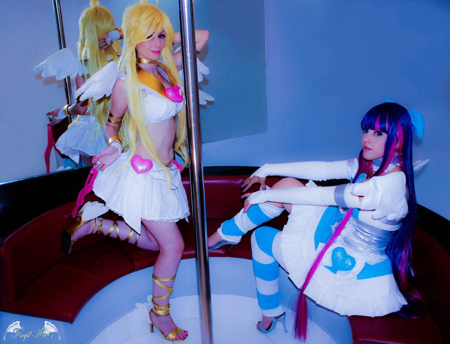 Panty and Stocking Cosplay by Angel--Arwen