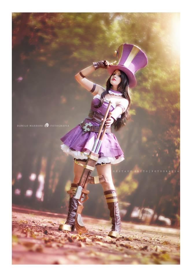 Caitlyn League of Legends by Angel--Arwen