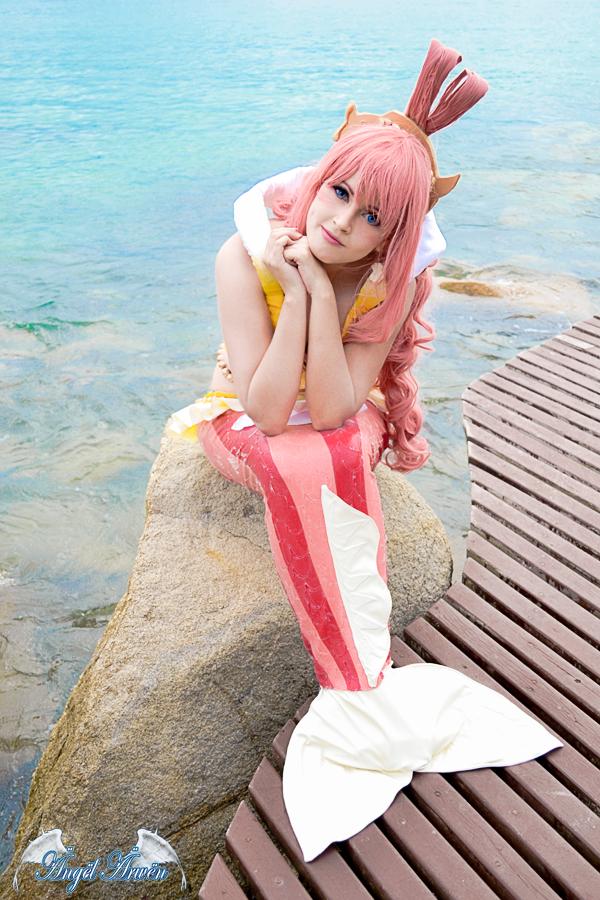 Shirahoshi cosplay by Angel--Arwen