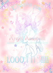 Tnks for 1000 hits by Angel--Arwen