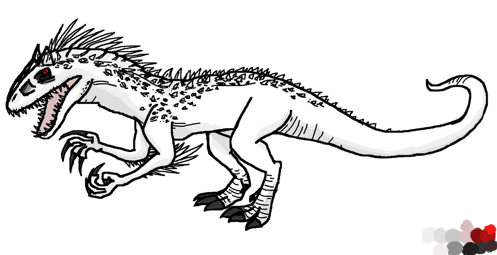 Indominus Rex Aw Yeah By Cirnokeetan