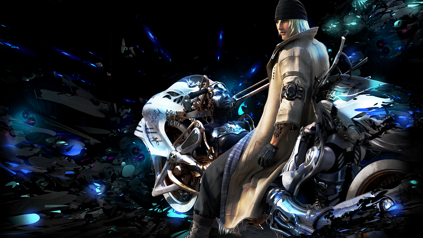 Snow Villiers Final Fantasy Xiii Wallpaper By Powerfeud On