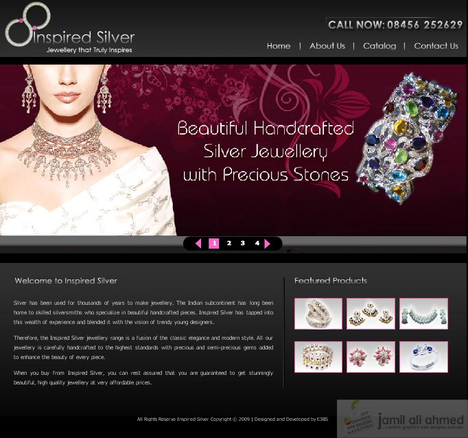 Jewelry Templates Free. website template 38901 online store design ...