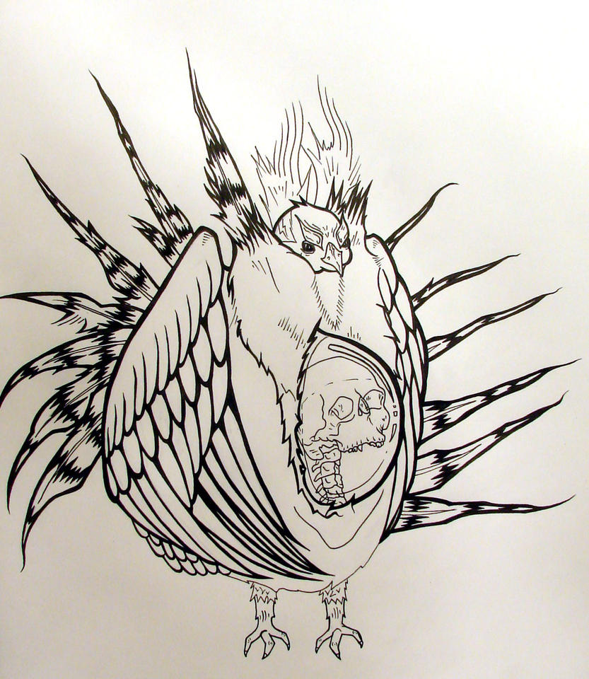 Sage grouse drawing - photo#6