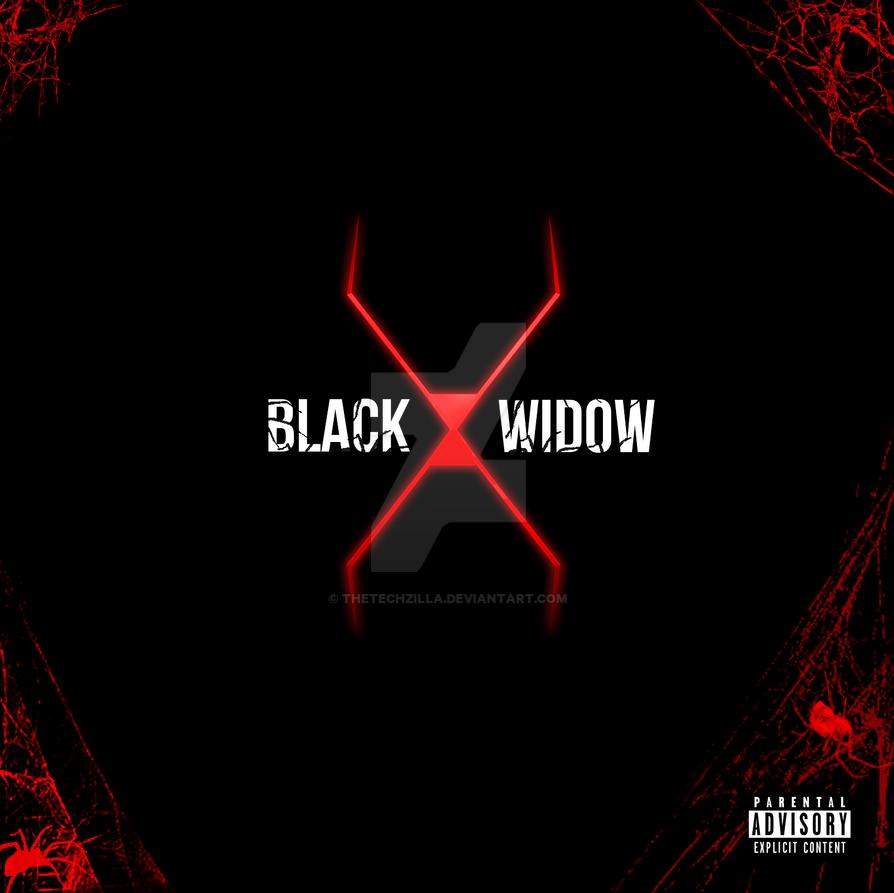 Black Widow CD Cover by TheTechzilla on DeviantArt