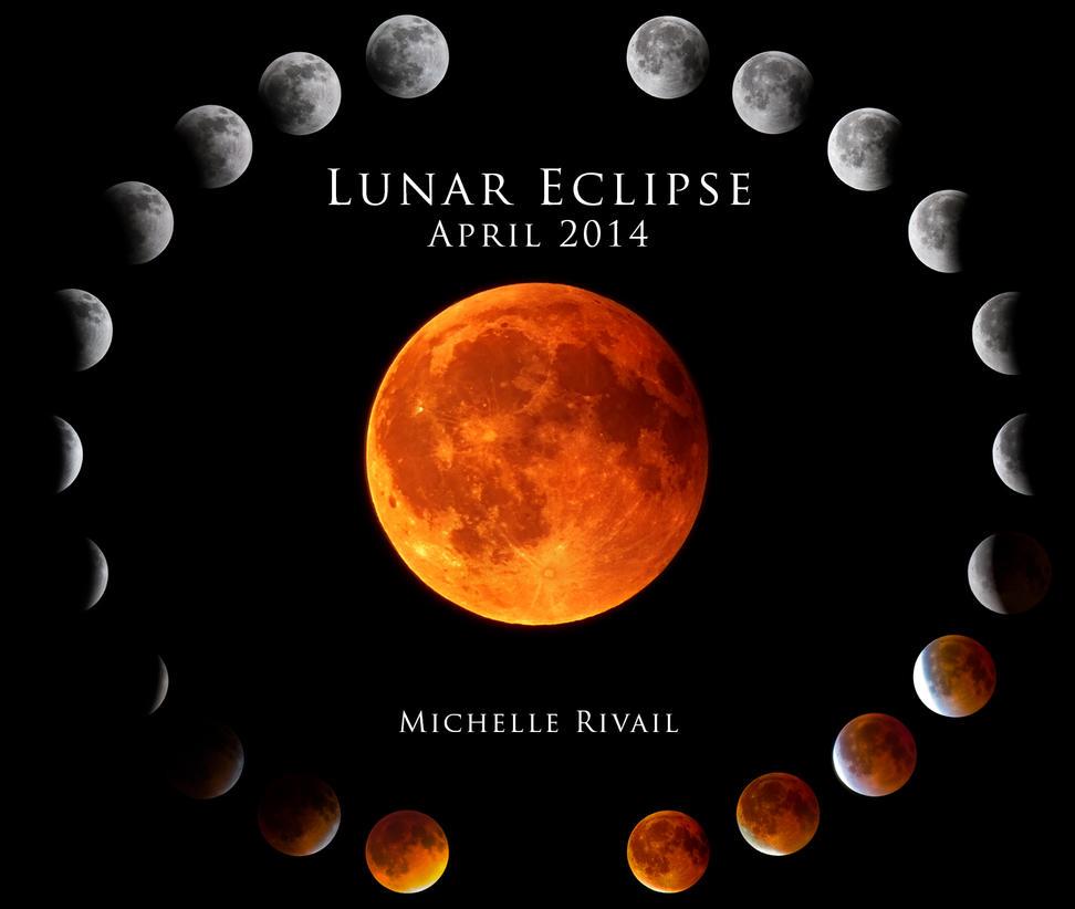 Lunar Eclipse April 2014 by DeviantNep on DeviantArt