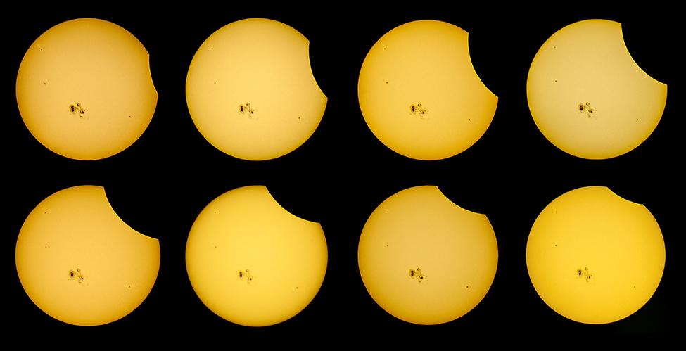 Partial Solar Eclipse by DeviantNep