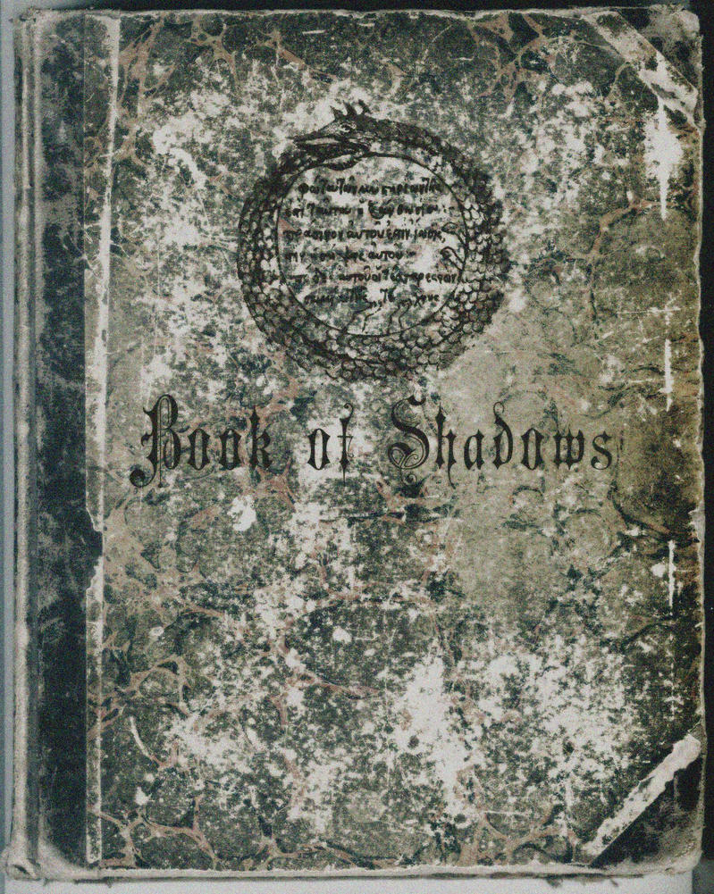 Book Of Shadows Cover Ideas : Book of shadows cover by deviantnep on deviantart