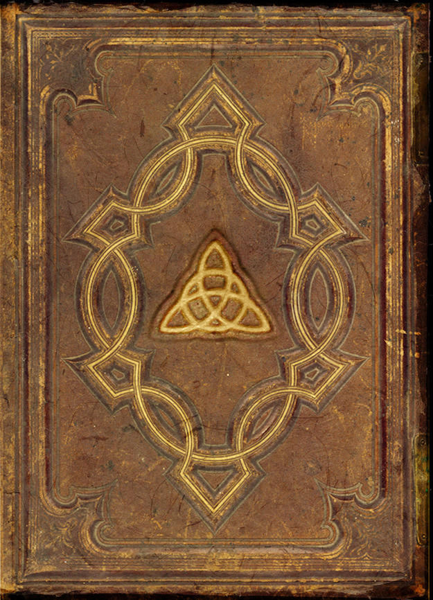 Old Book Cover Page ~ Book of shadows cover by deviantnep on deviantart