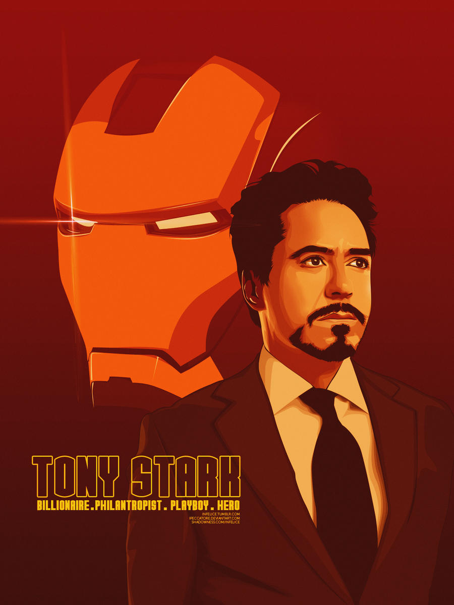Tony Stark by iPeccatore