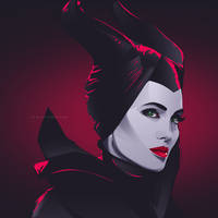 Maleficent by iPeccatore