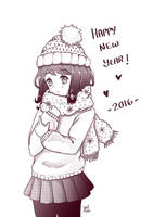 Happy new year 2016 by NaiLyn