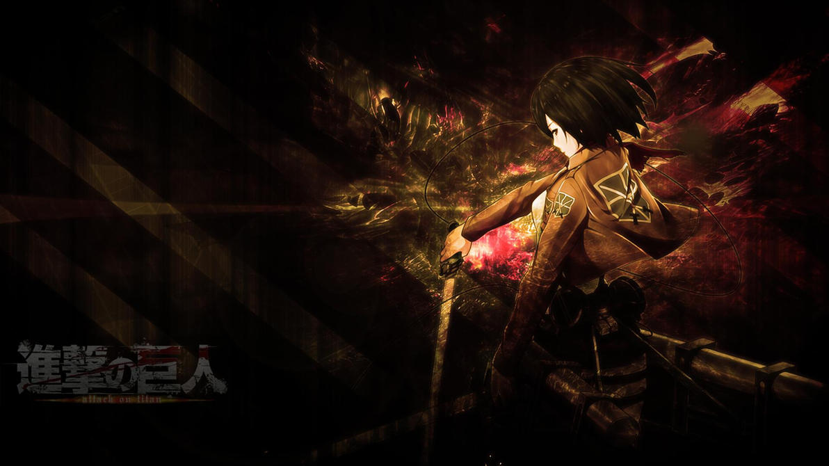 Attack On Titan Mikasa Wallpaper By Skeptec
