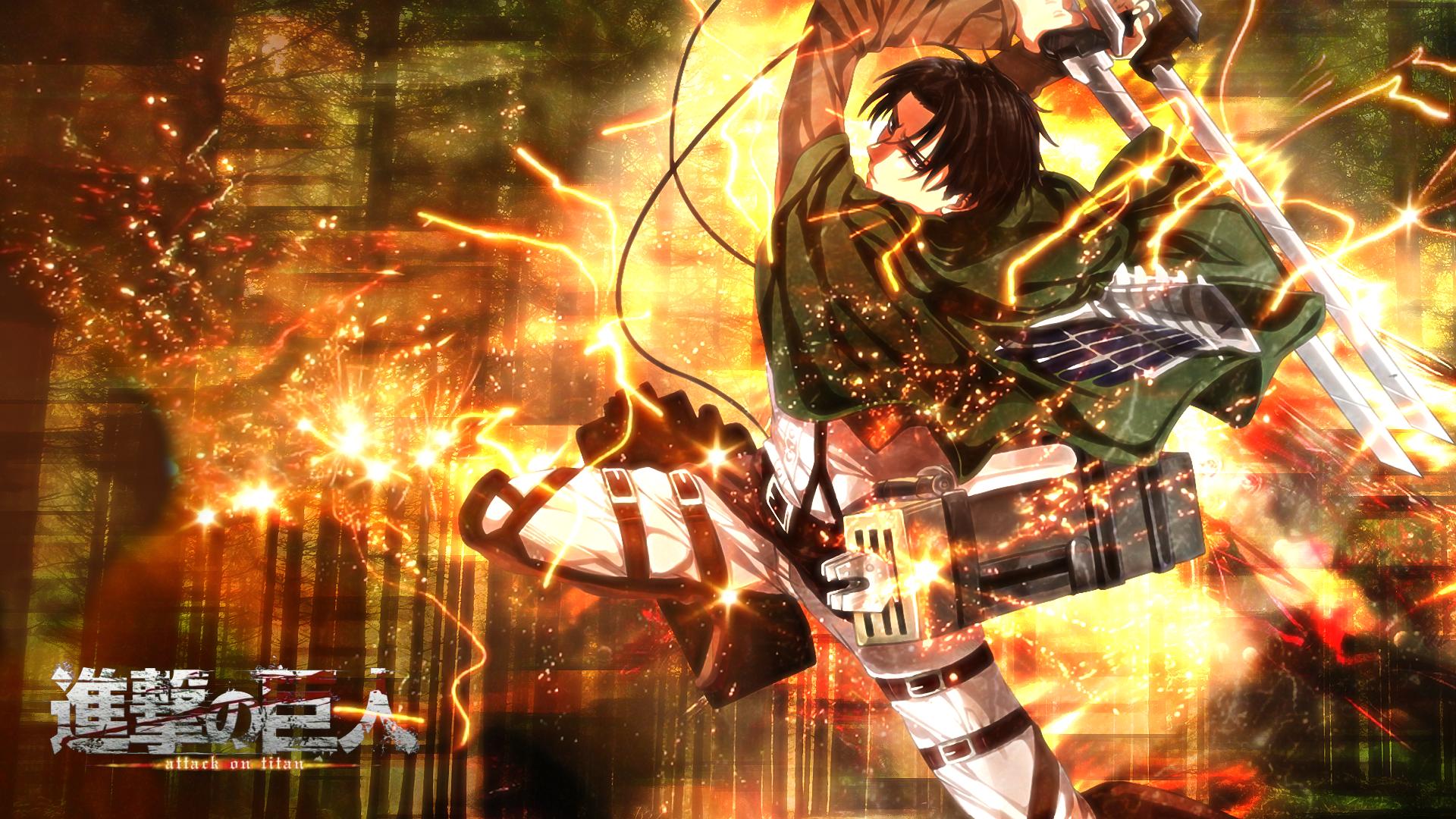 Levi Attack On Titan Wallpaper By Skeptec On Deviantart