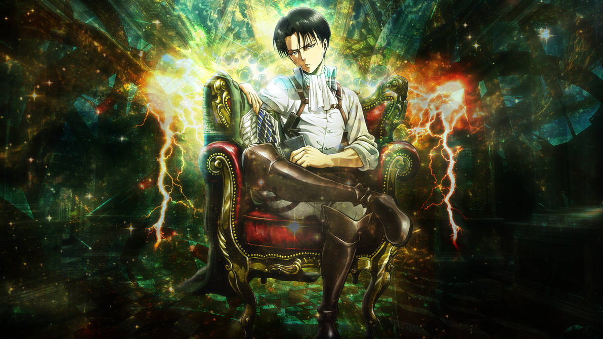 Attack On Titan Levi Wallpaper By Skeptec On Deviantart