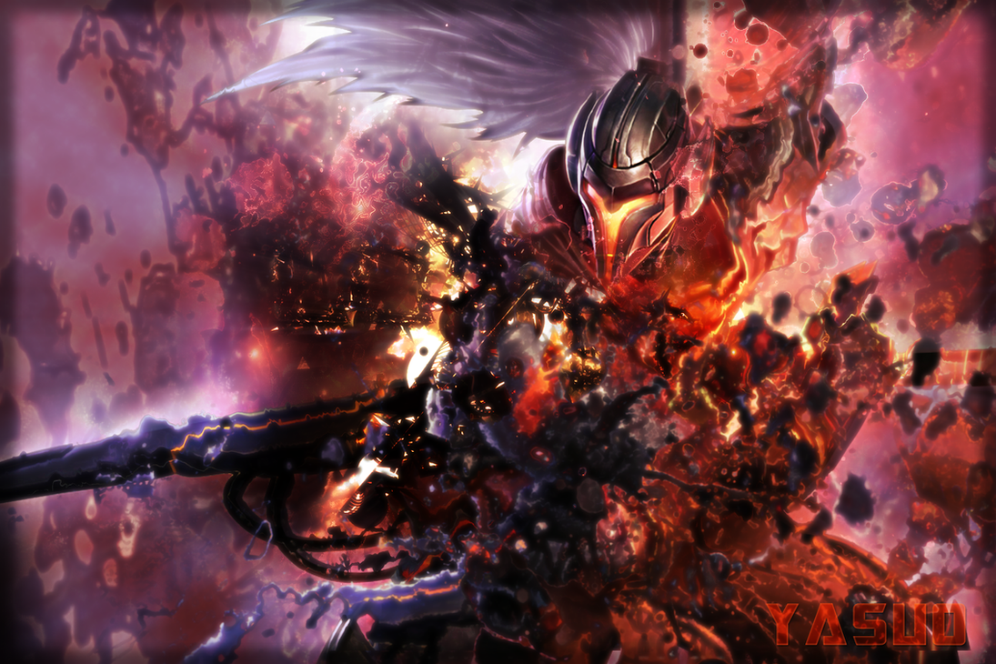 Project Yasuo Wallpaper by skeptec on DeviantArt