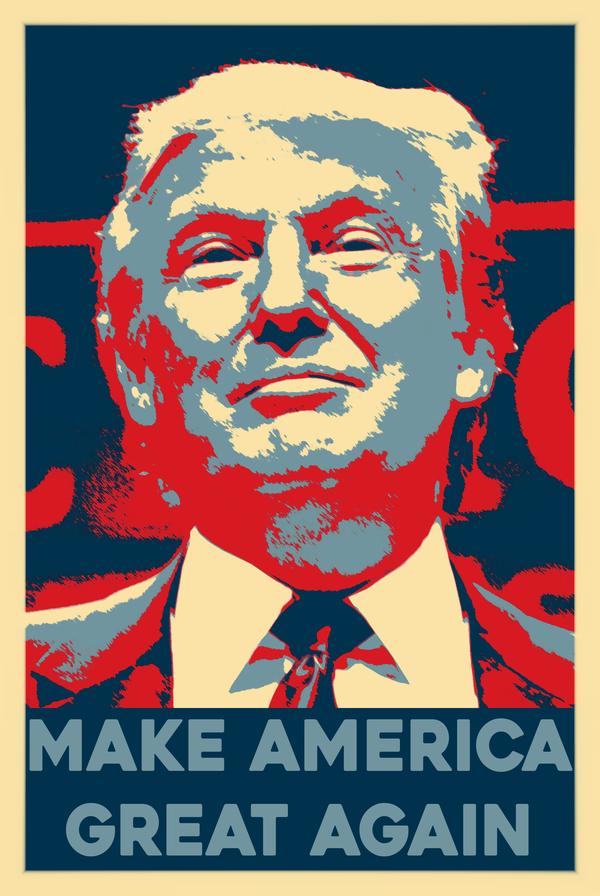 Trump hope make america great again by skeptec on deviantart for Make america great again wallpaper