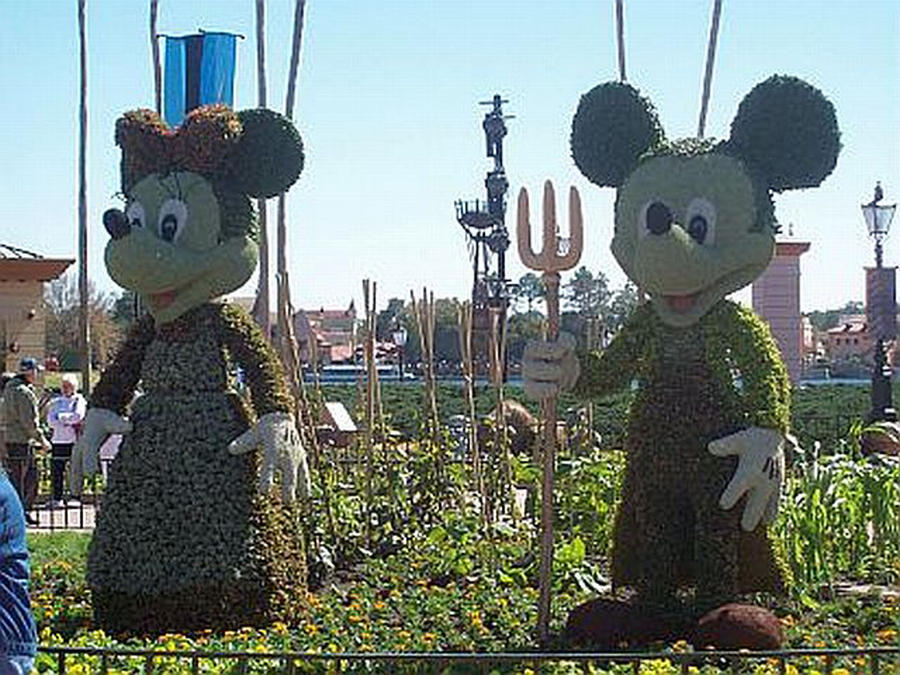 Farmer Mickey And Minnie By Blunose2772 On Deviantart