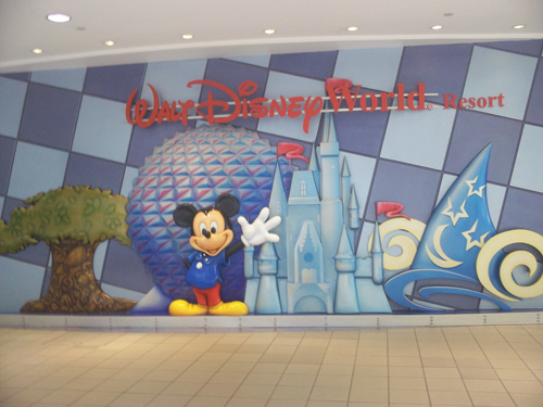 Walt disney world mural by blunose2772 on deviantart for Disney world mural