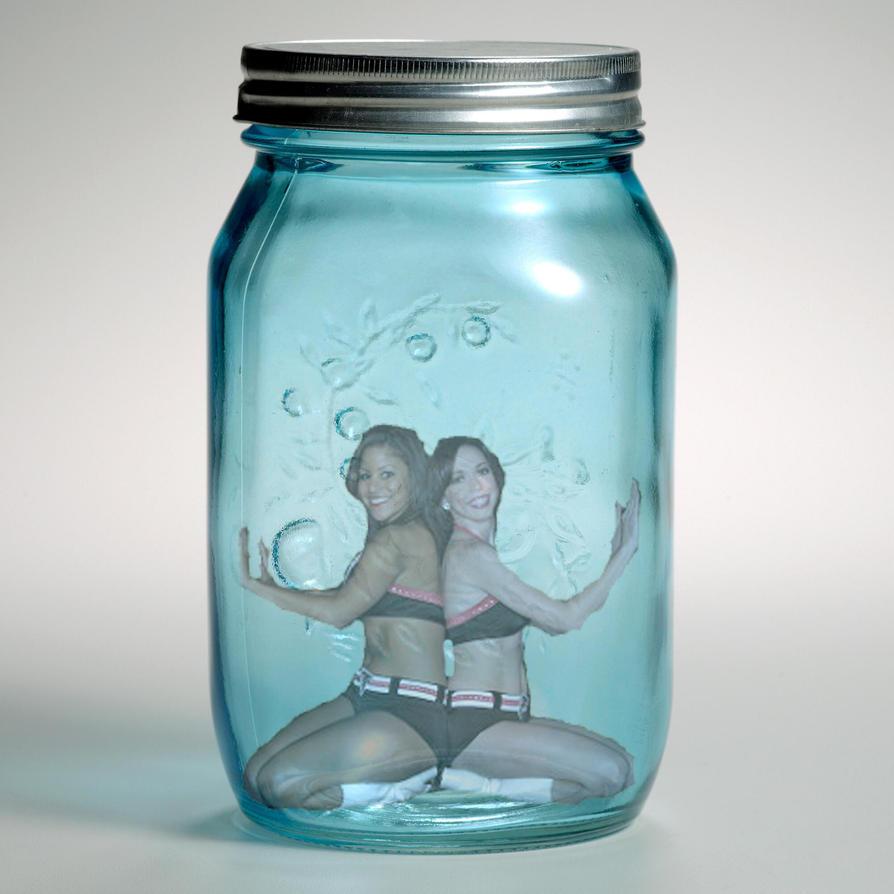 2 Cheerleaders 1 Jar by blunose2772