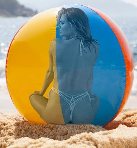Kate In A Beach Ball by blunose2772