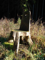 Woodenchair by jaldestock