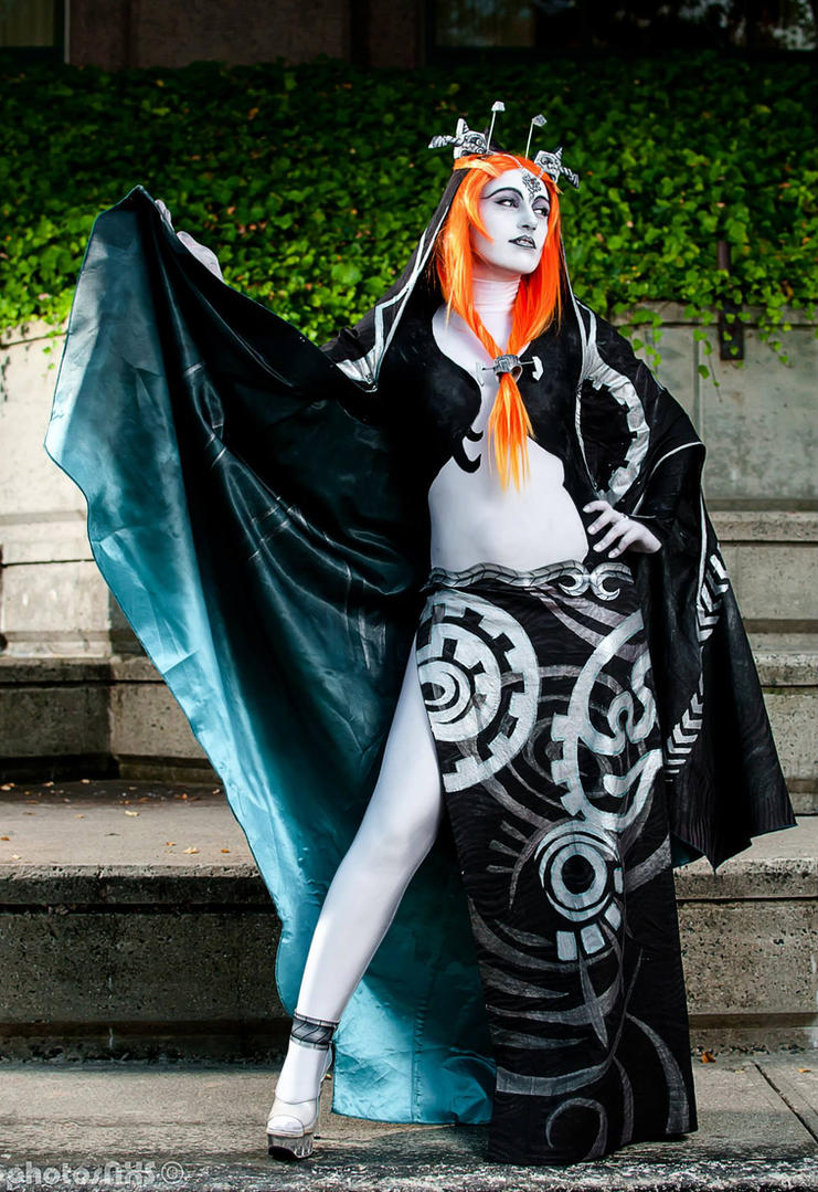 LoZ Twilight Princess: Midna by Caerulas