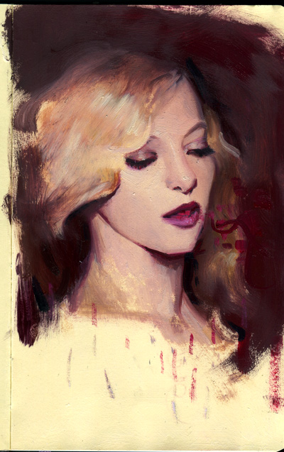 Moleskine portrait by rodluff