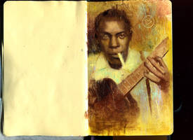 robert johnson sketch by rodluff