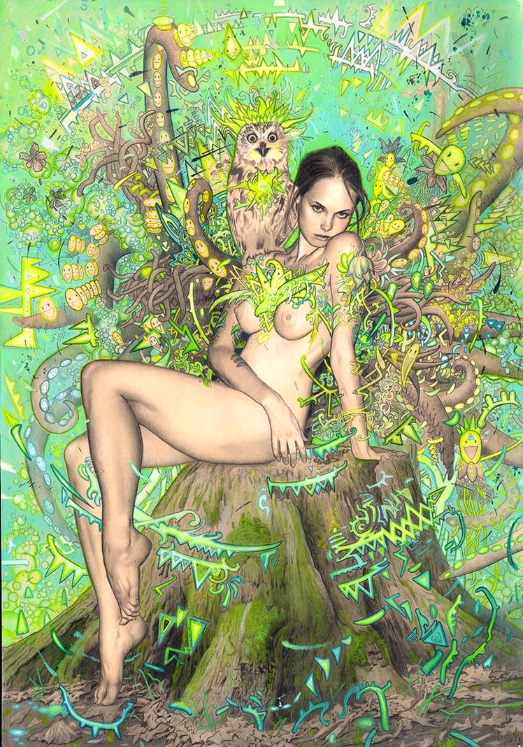 Tree Nymph by rodluff