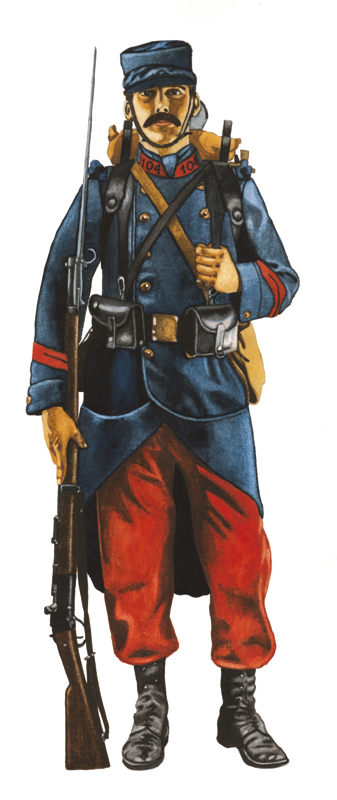 French soldier by JozsefSvab