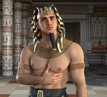 Boy pharaoh by achillias-da