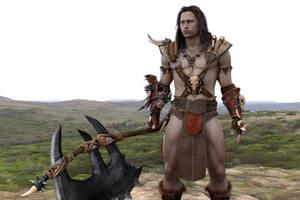 Conan the barbarian by achillias-da