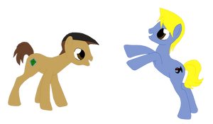 Tristan And Joey MLP Style