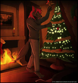 Comm-Setting up for Christmas