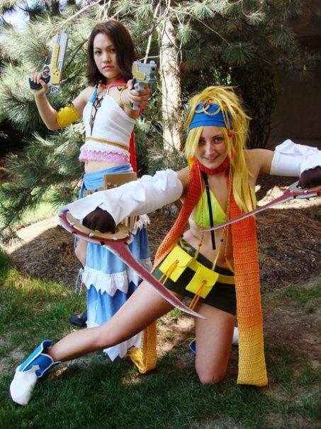Yuna ffx 2 cosplay