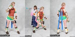 Rikku - Final Fantasy X by TotallyToastyAri