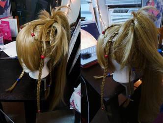 FFX-2 Rikku Wig Complete by TotallyToastyAri