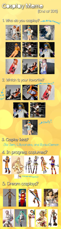 Cosplay Meme 2011 by xRikku-chanx