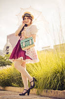 Classic Lolita - Summer Garden by TotallyToastyAri