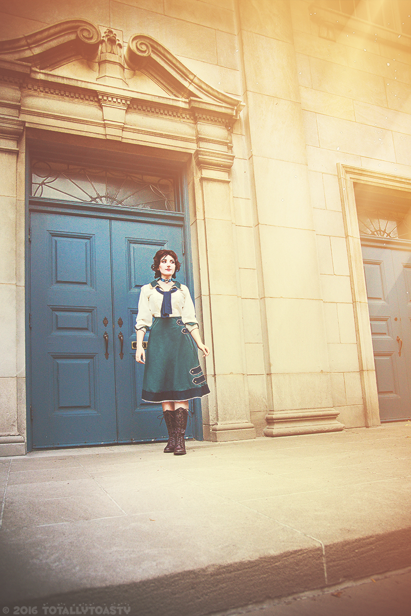 Young Elizabeth - Bioshock Infinite by TotallyToastyAri