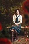 Bird in a Cage - Elizabeth from Bioshock Infinite by TotallyToastyAri