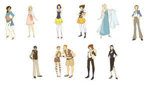 Disney Inspi Fashion set2