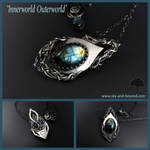 InnerWorld-OuterWorld pendant and necklace