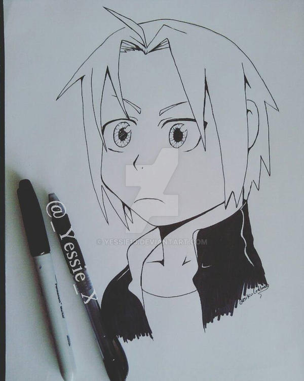 Edward Elric  by yessie10
