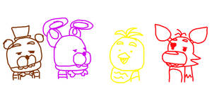 When I Try to Accurately Draw Fnaf