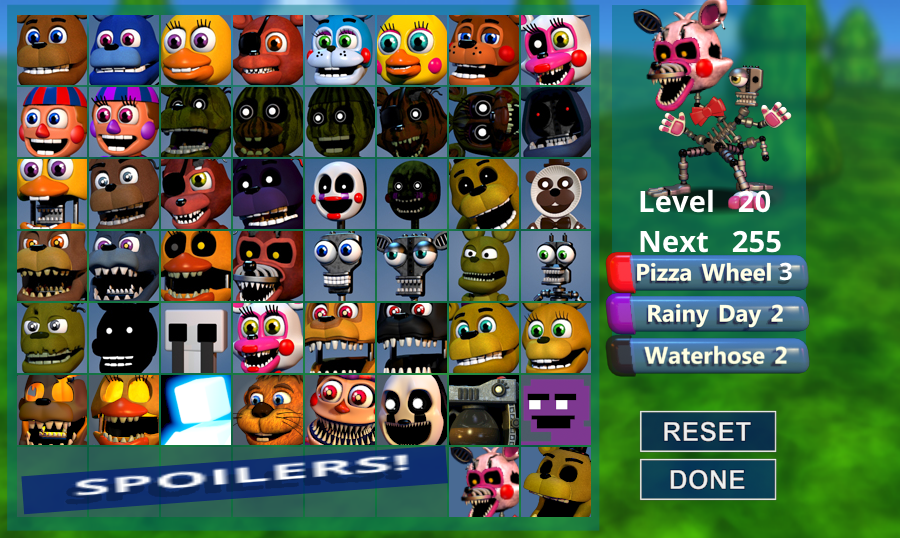 Fnaf World Update 3