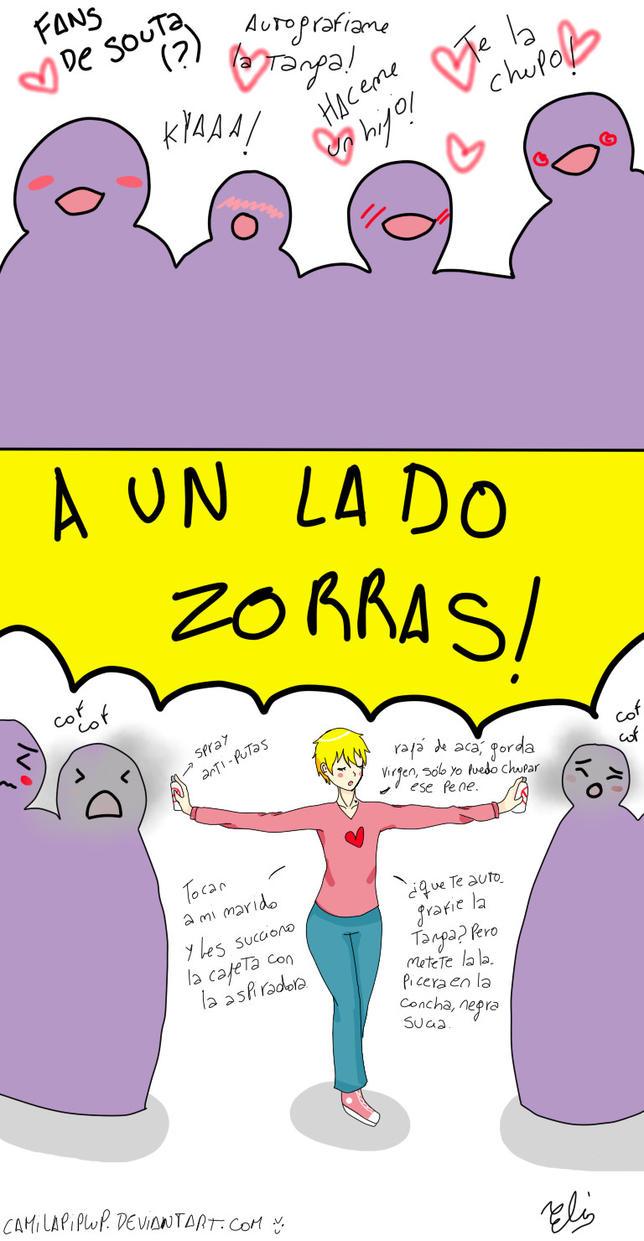 A UN LADO, PERRAS by Camilapiplup