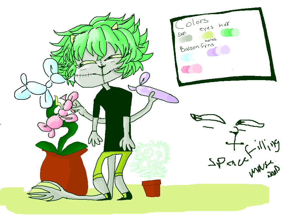 Plant Plant Boi by Paranoid-spectrum